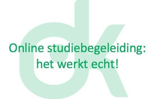 Online studie- huiswerkbegeleiding zowel voor middelbare scholieren als voor leerlingen van de basisschool!